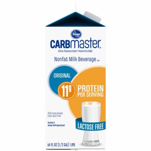 Kroger® CarbMaster Original Nonfat Lactose Free Milk Beverage Perspective: left