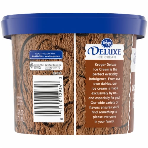 Kroger® Deluxe Chocolate Cookie Crumble Ice Cream Perspective: left