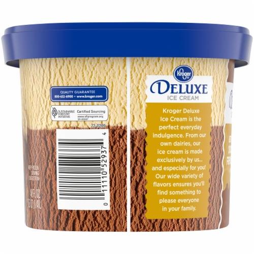 Kroger® Deluxe Best of Both Chocolate & French Vanilla Ice Cream Perspective: left