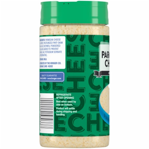 Kroger® Grated Parmesan Cheese Perspective: left