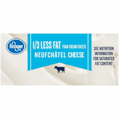 Kroger® Neufchatel Low Fat Cheese Perspective: left