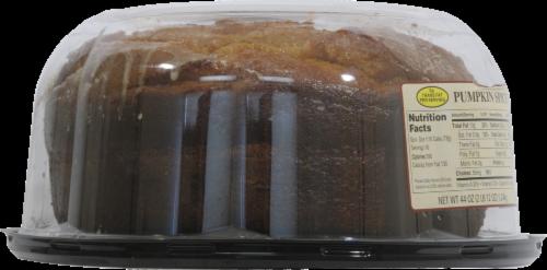 Bakery Fresh Goodness Pumpkin Pudding Cake Perspective: left