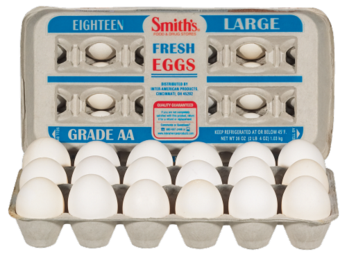 Smith's® Grade AA Large Eggs Perspective: left