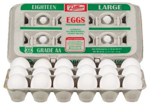 Dillons Grade AA Large Eggs Perspective: left