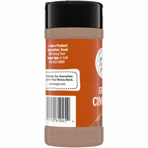 Smidge and Spoon™ Spices Ground Cinnamon Perspective: left