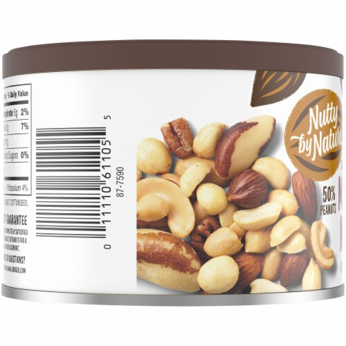 Nutty by Nature Sea-Salted Mixed Nuts Perspective: left