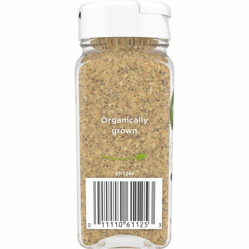 Simple Truth Organic™ Salt Free Lemon Pepper Seasoning Perspective: left