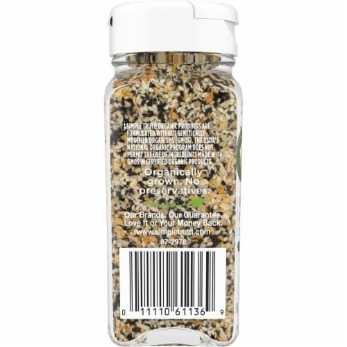 Simple Truth Organic™ Everything Bagel Seasoning Blend Perspective: left