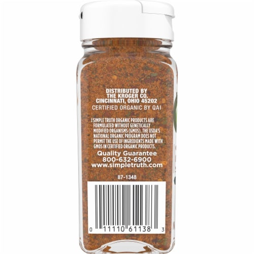 Kroger Simple Truth Organic Chile Lime Adobo Seasoning Blend 2 32 Oz