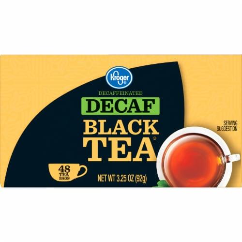 Kroger® Decaffeinated Black Tea Bags Perspective: left