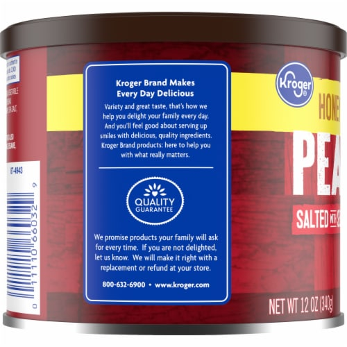Kroger® Honey Roasted Peanuts Perspective: left