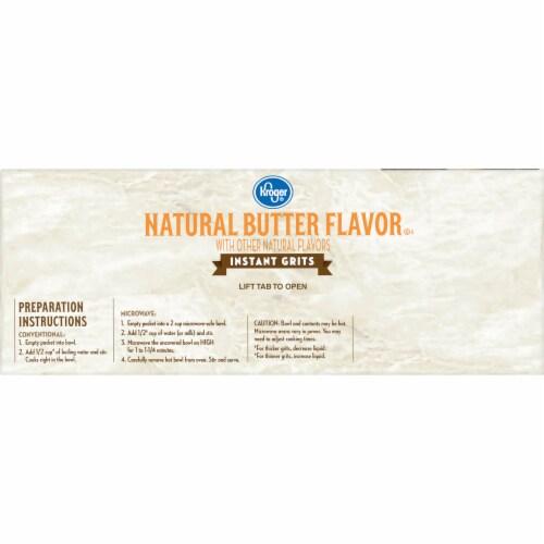 Kroger® Natural Butter Flavor Instant Grits Perspective: left
