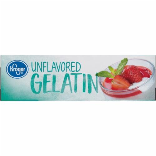 Kroger® Unflavored Gelatin Perspective: left