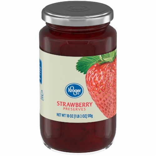 Kroger® Strawberry Preserves Perspective: left