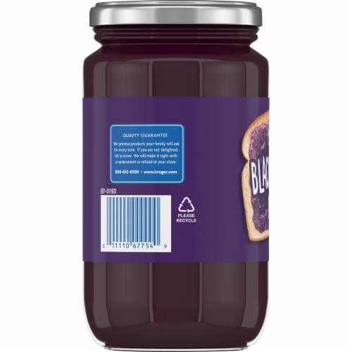 Kroger® Blackberry Jelly Perspective: left