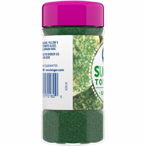Kroger®  Green Sugar Topping Perspective: left