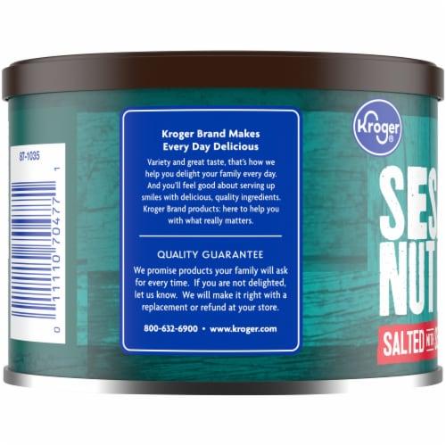 Kroger® Sesame Nut Mix Salted with Sea Salt Perspective: left