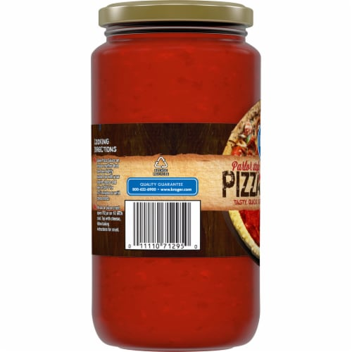 Kroger® Parlor Style Pizza Sauce Perspective: left