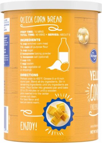 Kroger® Yellow Corn Meal Perspective: left