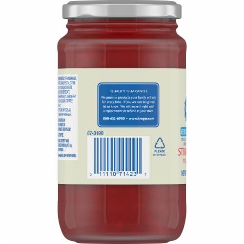 Kroger® Reduced Sugar Strawberry Preserves Perspective: left
