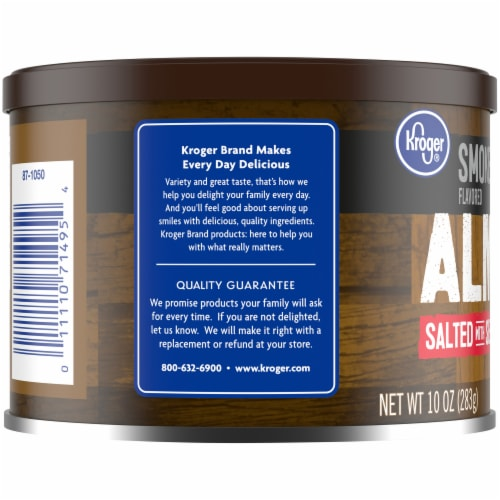 Kroger® Smoke Flavored Salted with Sea Salt Almonds Perspective: left