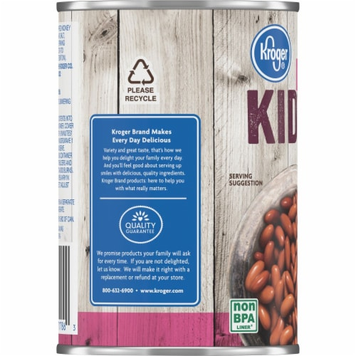 Kroger® Light Red Kidney Beans Perspective: left