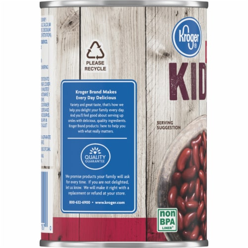 Kroger® Dark Red Kidney Beans Perspective: left