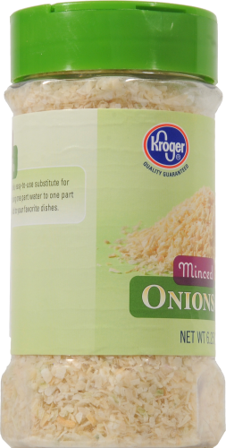 Kroger® Minced Onions Perspective: left