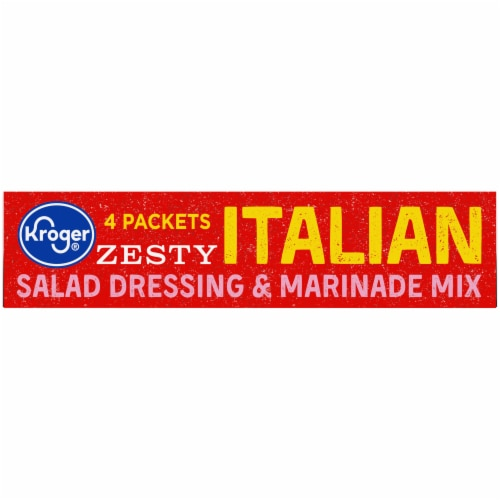 Kroger® Zesty Italian Salad Dressing & Marinade Mix Perspective: left