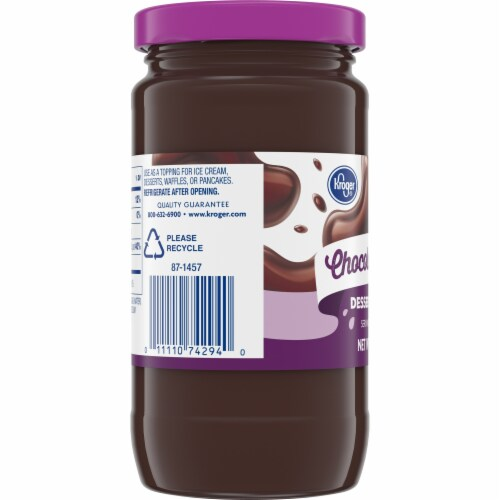Kroger®  Chocolate Fudge Dessert Topping Perspective: left