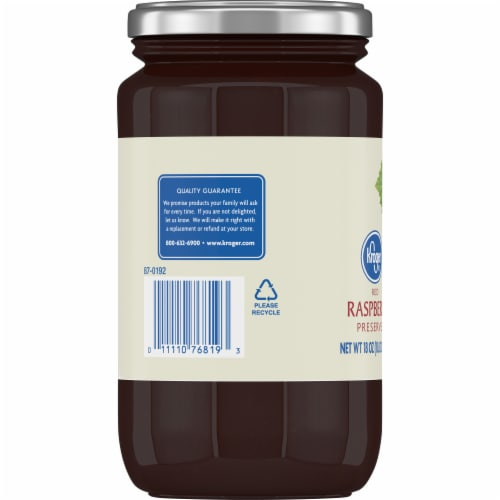 Kroger® Red Raspberry Preserves Perspective: left