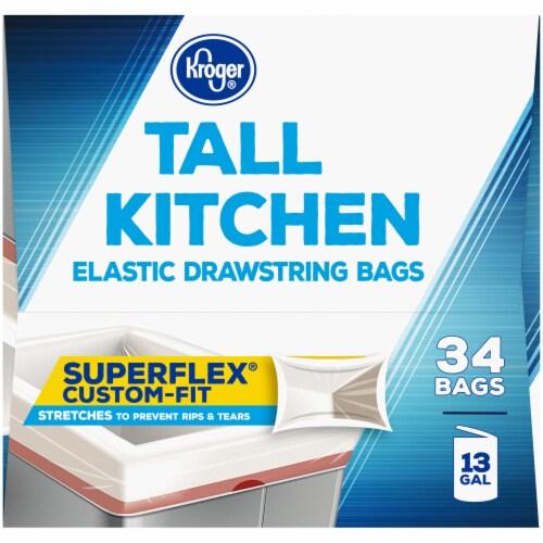 Kroger® Tall Kitchen Super Flex Bags Perspective: left