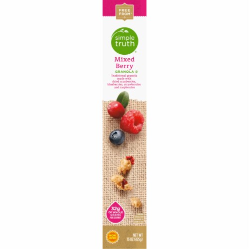 Simple Truth® Mixed Berry Granola Perspective: left