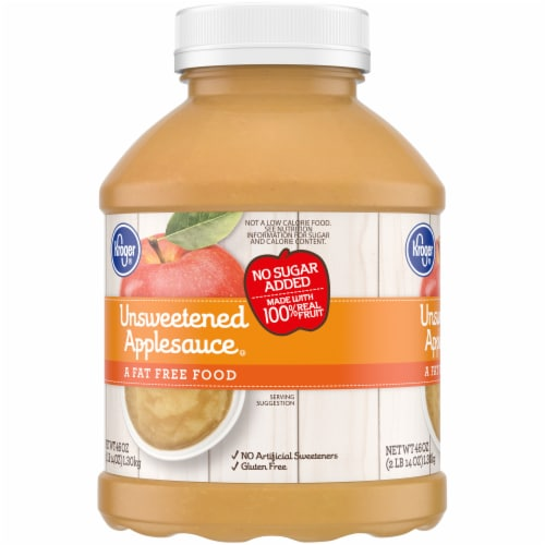 Kroger® Unsweetened Applesauce Perspective: left