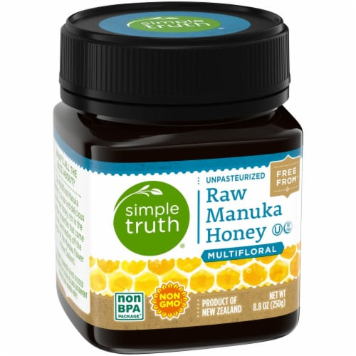 Simple Truth® Multifloral Raw Manuka Honey Perspective: left