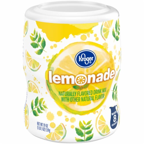 Kroger® Old Fashioned Lemonade Drink Mix Perspective: left