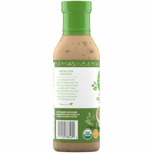 Simple Truth Organic® Creamy Goddess Dressing Perspective: left