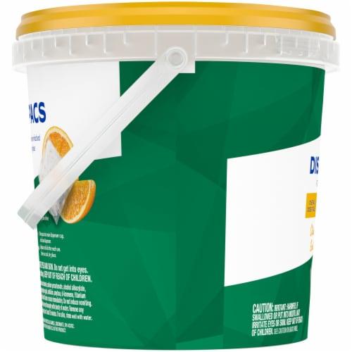 Kroger® Citrus Dishwashing Pacs Perspective: left