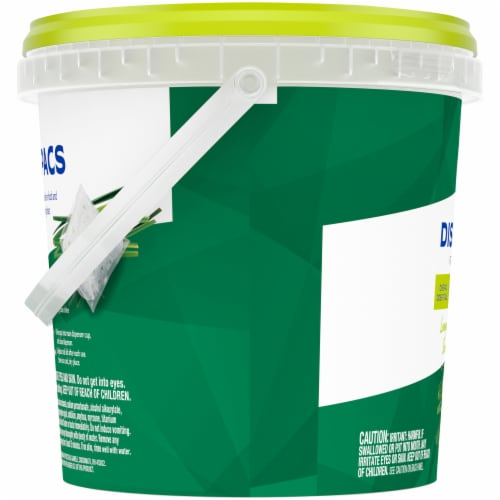 Kroger® Lemongrass Dishwashing Pacs Perspective: left