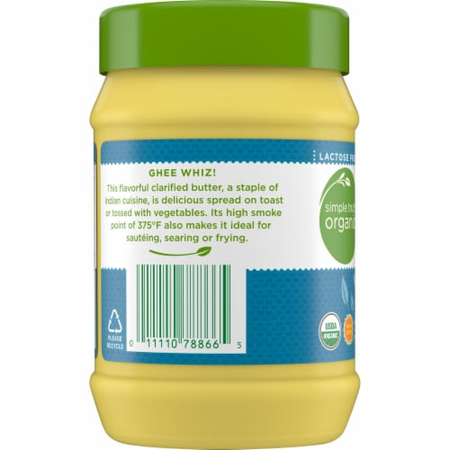 Simple Truth Organic™ Ghee Clarified Butter Perspective: left