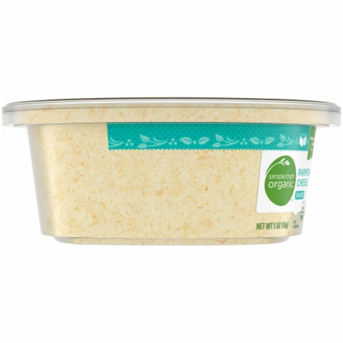 Simple Truth Organic® Grated Parmesan Cheese Perspective: left