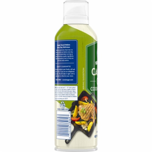 Kroger Non Stick Canola Cooking Spray Perspective: left