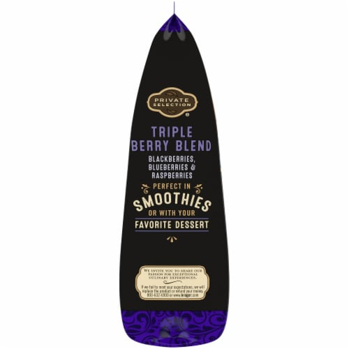 Private Selection® Triple Berry Blend Frozen Fruit Perspective: left