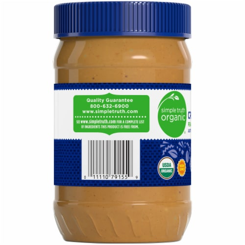 Simple Truth Organic® Crunchy Peanut Butter Perspective: left