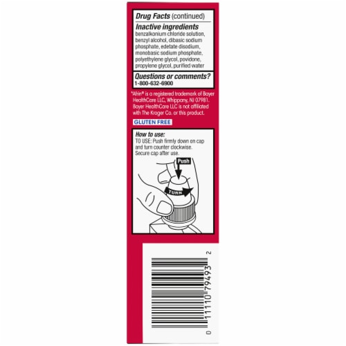 Kroger® Maximum Strength Original Nasal Spray Perspective: left