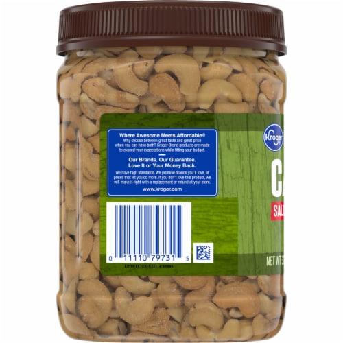 Kroger® Salted Whole Cashews Perspective: left