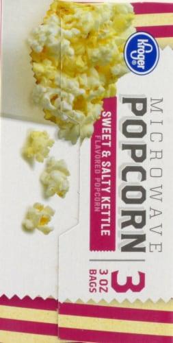 Kroger® Sweet & Salty Kettle Microwave Popcorn Perspective: left