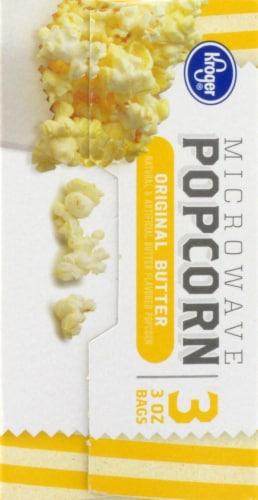 Kroger® Original Butter Microwave Popcorn Perspective: left