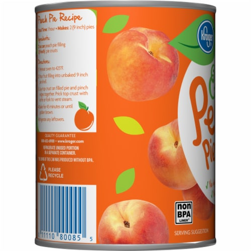 Kroger® Extra Peach Pie Filling Perspective: left