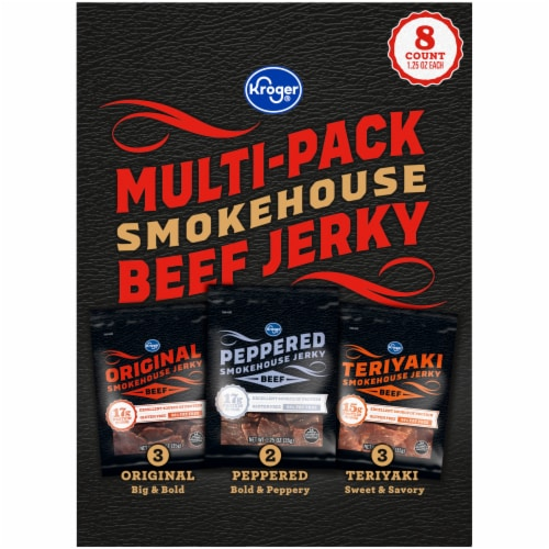 Kroger® Beef Smokehouse Jerky Multi-Pack Perspective: left